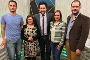 El regidor Joan Arques va participar en el programa El Mirador, d'Alacantí TV, per a debatre sobre els pressupostos amb representants d'altres forces polítiques xixonenques.